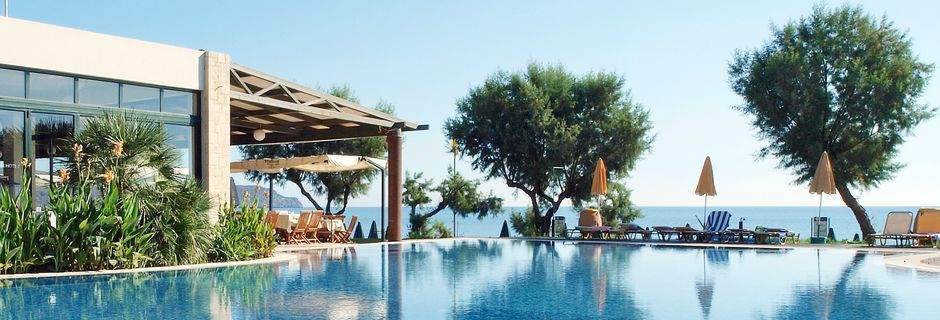 Hotell Iolida Star i Agia Marina, Kreta.