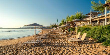 Stranden närmast hotell Iolida Star.