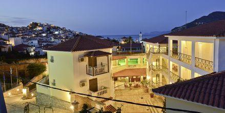 Hotell Ionia på Skopelos, Grekland.