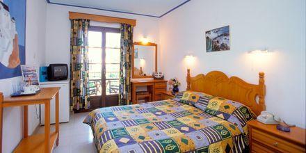 Dubbelrum på hotell Ionia på Skopelos, Grekland.