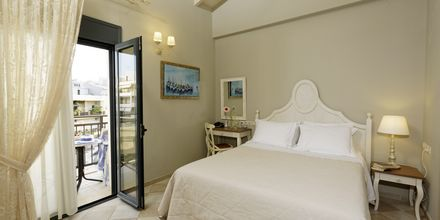 Enrumslägenhet på hotell Ionia Suites i Rethymnon på Kreta.
