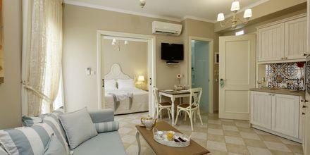 Tvårumslägenhet på hotell Ionia Suites i Rethymnon på Kreta.