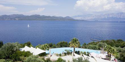 Hotell Ionian Blue på Lefkas, Grekland.