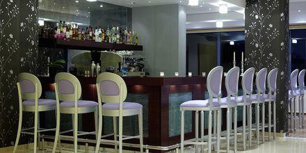 Hotellbaren på hotell Ionioan Theoxenia i Kanali, Grekland.