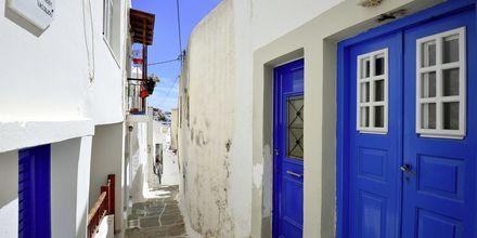 Ios stad - Chora, Grekland