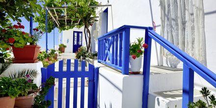 Ios stad - Chora på Ios, Grekland.