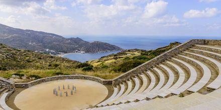 Amfiteatern på Ios.