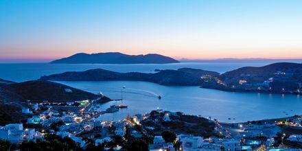 Gialos på Ios i Grekland.