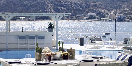 Restaurang på Ios Palace på Ios i Grekland.
