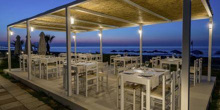 Strandbaren på hotell Iperion i Rethymnon, Kreta.