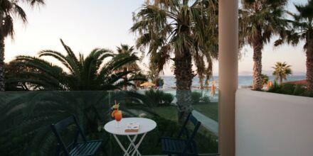 Hotell Irina Beach i Tigaki på Kos, Grekland.