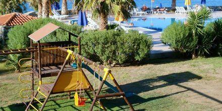 Lekplats på hotell Irina Beach i Tigaki på Kos, Grekland.
