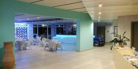 Reception på hotell Irina Beach i Tigaki på Kos, Grekland.