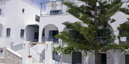 Hotell Iris i Kamari, Santorini.