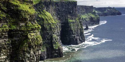 Cliffs of Moher på Irland, ett fantastiskt utflyktsmål.