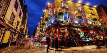 Temple Bar är ett område i Dublin, fyllt av härliga pubar.