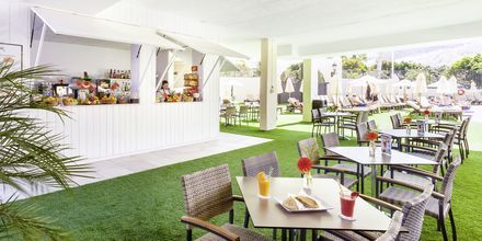 Juicebar på hotell Isabel i Playa de las Americas på Teneriffa.