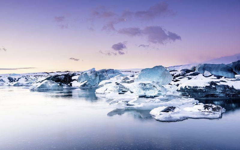 Jökulsárlón, Island.