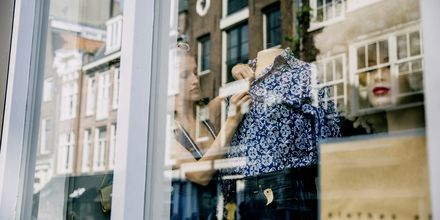Shoppa italiensk design i modestaden Milano.