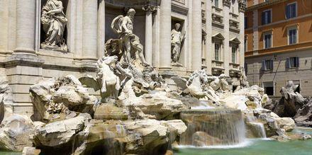 Fontana di Trevi i Rom.