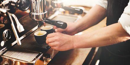 Espresso i Rom - ett måste för kaffedrickare.