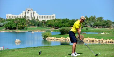 Golf på hotell JA Beach i Dubai.