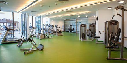 Gym på hotell JA Ocean View i Dubai, Förenade Arabemiraten.