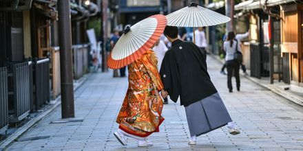 Den japanska kulturen skiljer sig mycket från den västerländska.