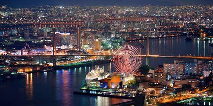 Osaka är annan härlig stad i Japan.