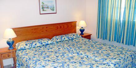 Tvårumslägenhet på hotell Jardin del Conde på La Gomera, Spanien.