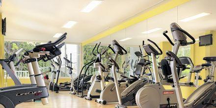 Gymmet på Jardines De Nivaria i Costa Adeje på Teneriffa.