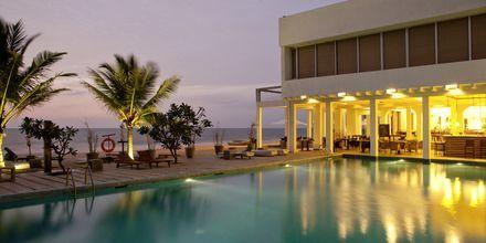 Pool på hotell Jetwing Sea i Negombo på Sri Lanka.