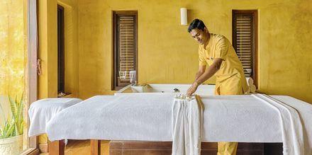 Spa på hotell Jetwing Sea i Negombo på Sri Lanka.