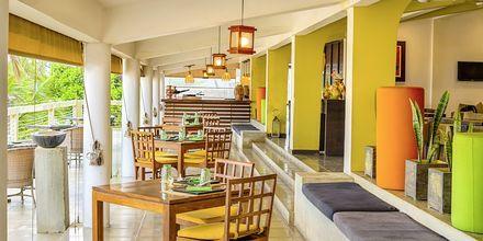 Restaurang på hotell Jetwing Sea i Negombo på Sri Lanka.