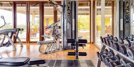 Gym på hotell Jetwing Sea i Negombo på Sri Lanka.