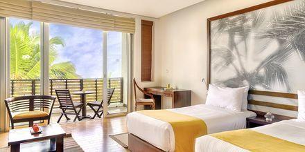 Deluxerum på hotell Jetwing Sea i Negombo på Sri Lanka.