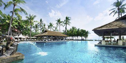 Hotell InterContinental Bali Resort i Jimbaran, Bali.