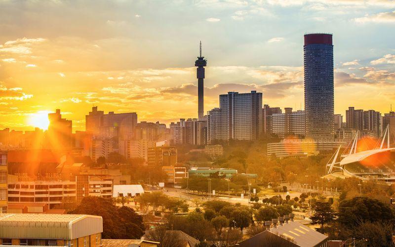 Johannesburg är Sydafrikas största stad.