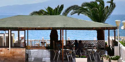 Bar på hotell Joni i Saranda, Albanien.