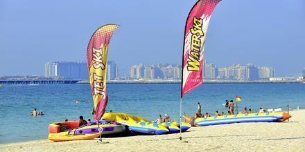 Strand i Dubai Jumeirah Beach, Förenade Arabemiraten.