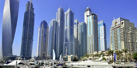 Dubai Marina i Förenade Arabemiraten.