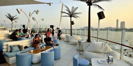 Cielo sky bar i Dubai Marina, Förenade Arabemiraten.