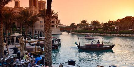 Madinat i Dubai Jumeirah Beach, Förenade Arabemiraten.