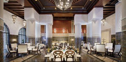 Restaurang Amala på hotell Jumeirah Zabeel Saray på Dubai Palm Jumeirah, Förenade Arabemiraten.