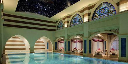 Thalasso therapy på hotell Jumeirah Zabeel Saray på Dubai Palm Jumeirah, Förenade Arabemiraten.