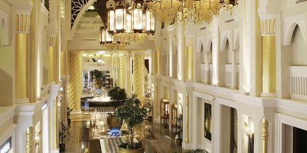 Hotell Jumeirah Zabeel Saray på Dubai Palm Jumeirah, Förenade Arabemiraten.