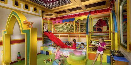 Barnklubb på hotell Jumeirah Zabeel Saray på Dubai Palm Jumeirah, Förenade Arabemiraten.