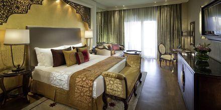 Clubrum på hotell Jumeirah Zabeel Saray på Dubai Palm Jumeirah, Förenade Arabemiraten.