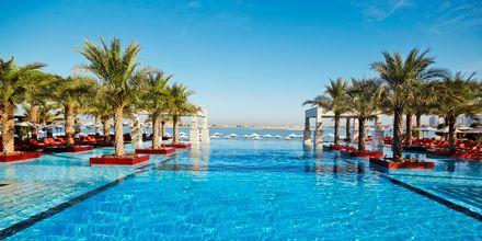 Pool på hotell Jumeirah Zabeel Saray på Dubai Palm Jumeirah, Förenade Arabemiraten. Vänligen notera att poolen kommer genomgå underhållsarbete mellan 5-20 maj 2019.