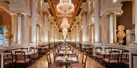 Restaurang Imperium på hotell Jumeirah Zabeel Saray på Dubai Palm Jumeirah, Förenade Arabemiraten.